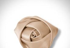 Toffee Rose Lapel Pin