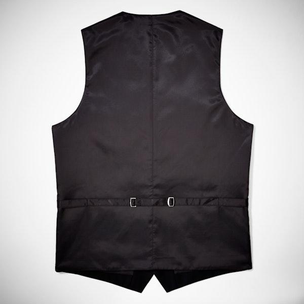 Classic Black Suit Vest