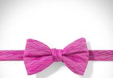 Begonia Zig Zag Pre-Tied Bow Tie