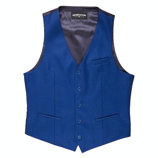 Cobalt Blue Suit Vest