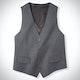 Steel Gray Suit Vest