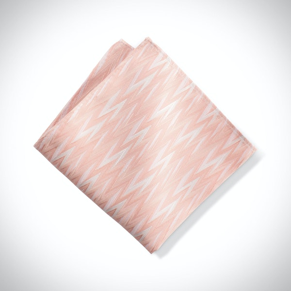 Bellini Zig Zag Pocket Square