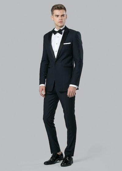 Navy Peak Lapel Tuxedo