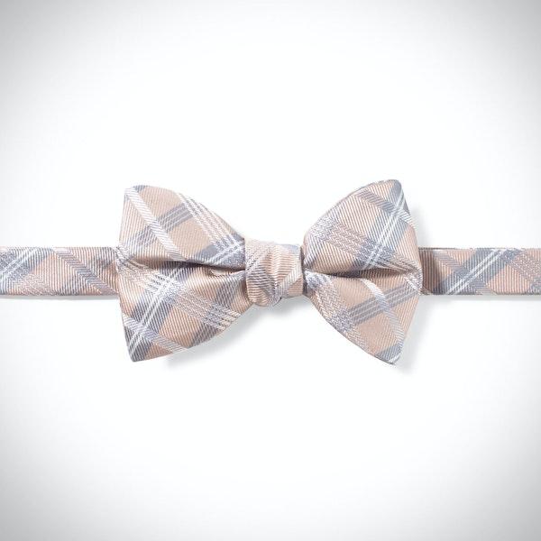 Biscotti Plaid Pre-Tied Bow Tie