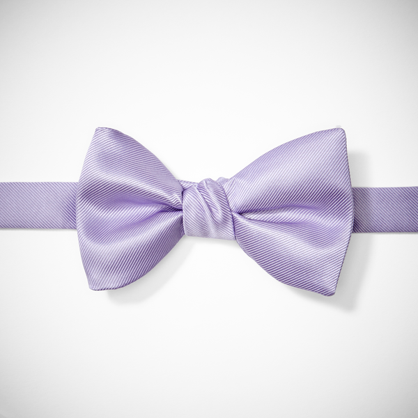 Lilac Pre-Tied Bow Tie