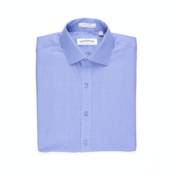 Blue Honeycomb Shirt