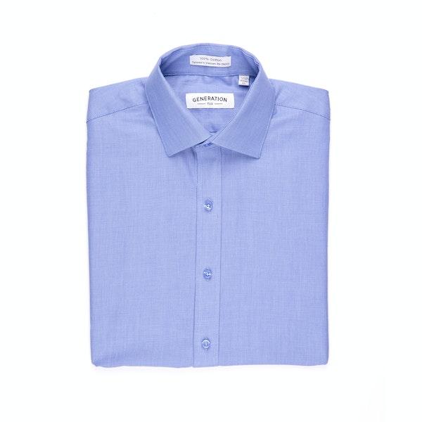 Blue Honeycomb Shirt