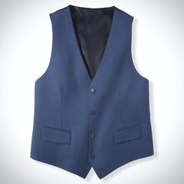 Deep Blue Suit Vest