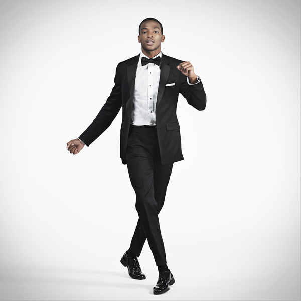 Black Notch Lapel Slim Tux