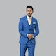 Blue Chambray Suit