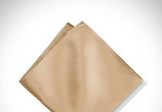Toffee Pocket Square