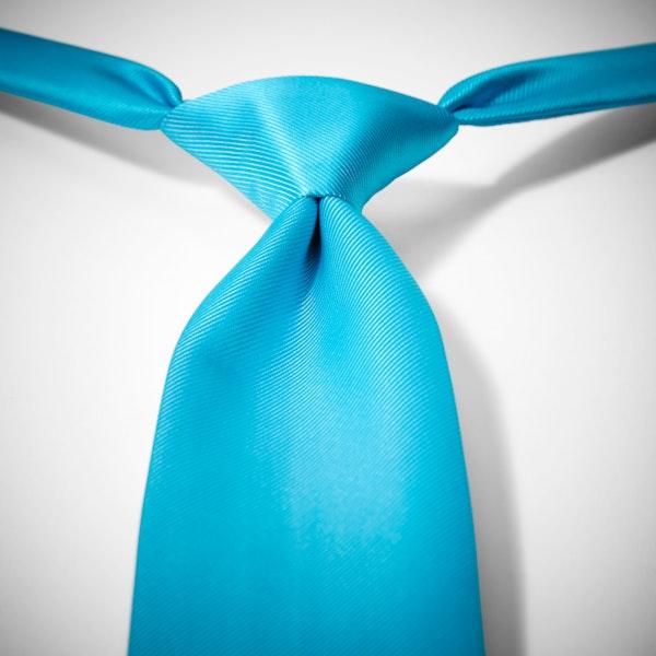 Malibu-Aqua Pre-Tied Tie