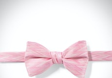 Tickled Zig Zag Pre-Tied Bow Tie