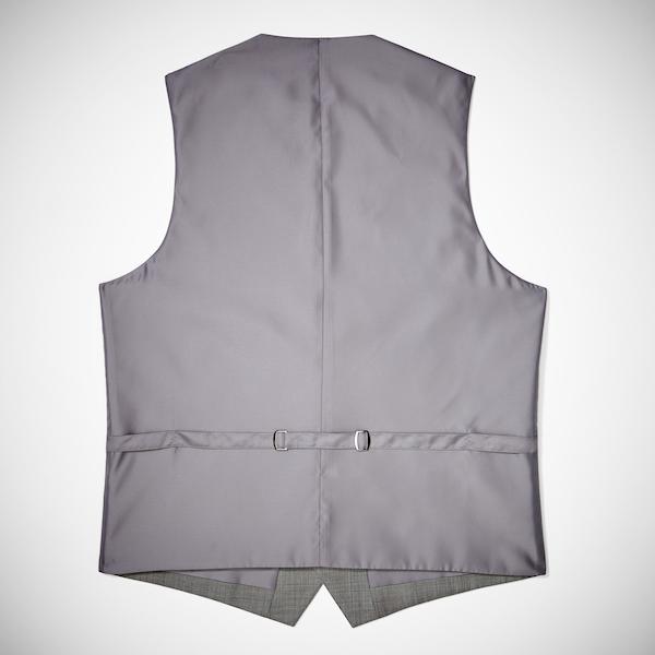 Gray Suit Vest