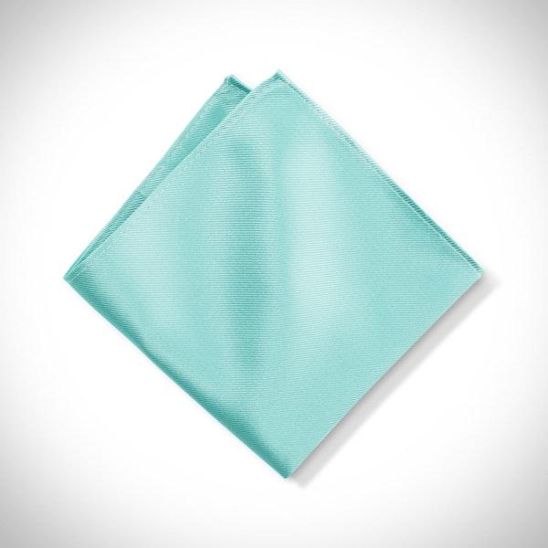 Tiffany Blue Pocket Square