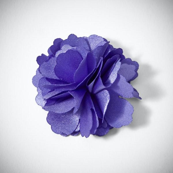 Viola Carnation Lapel Pin