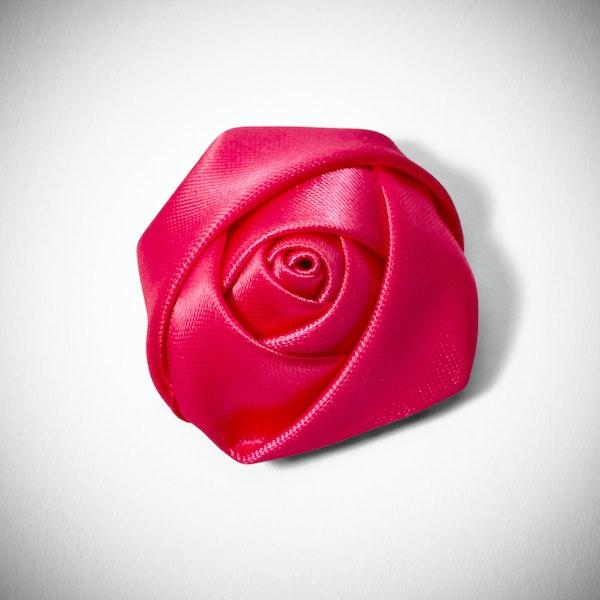 Begonia Rose Lapel Pin