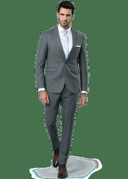 Steel Gray Suit