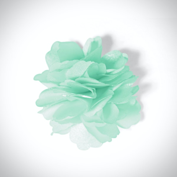 Mint Carnation Lapel Pin