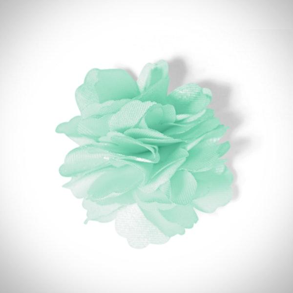 Mint Carnation Lapel Pin