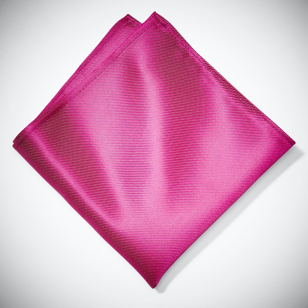 Begonia Pocket Square