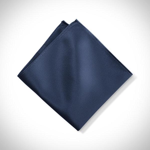 Dark Navy Pocket Square