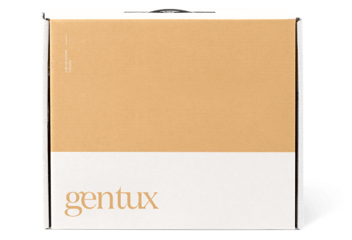 GenerationTux shipping box that our suits come in. About the size of a brief case.