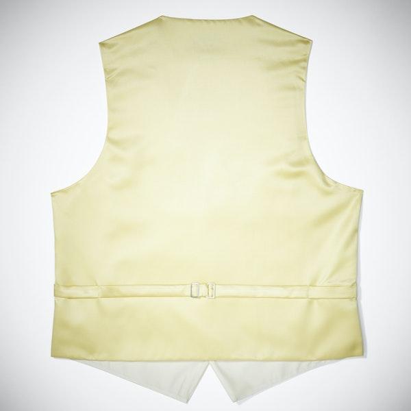 Canary Paisley Vest