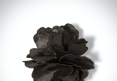 Pewter Carnation Lapel Pin