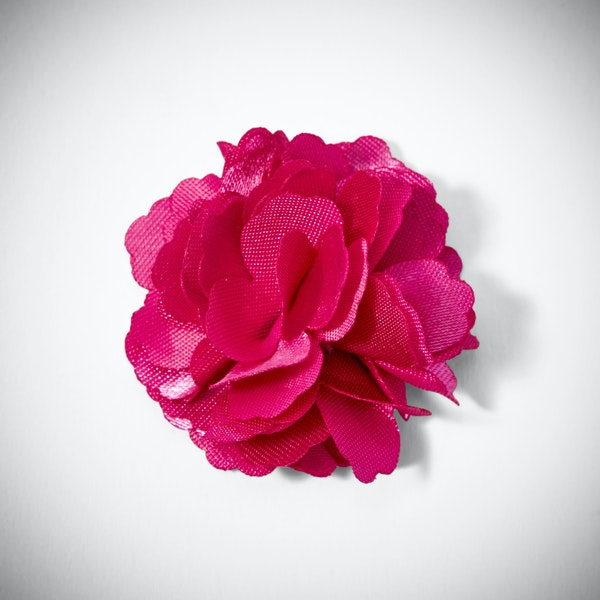 Begonia Carnation Lapel Pin