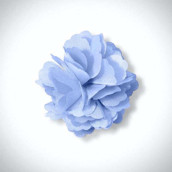 Ice Blue Carnation Lapel Pin