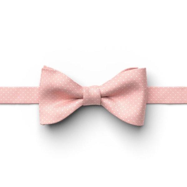 Ballet Pin Dot Pre-Tied Bow Tie
