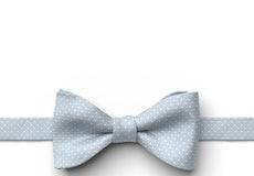 Desert Blue Pin Dot Pre-Tied Bow Tie