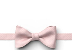 First Blush Pin Dot Pre-Tied Bow Tie