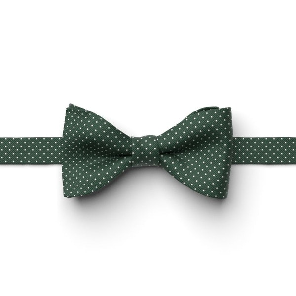 Hunter Pin Dot Pre-Tied Bow Tie