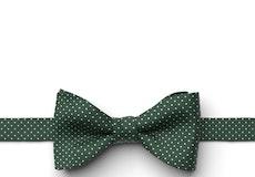 Hunter Pin Dot Pre-Tied Bow Tie