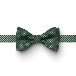 Juniper-Hunter Pin Dot Pre-Tied Bow Tie