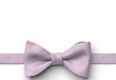 Iris Pin Dot Pre-Tied Bow Tie