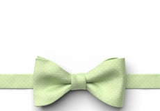 Lime Pin Dot Pre-Tied Bow Tie