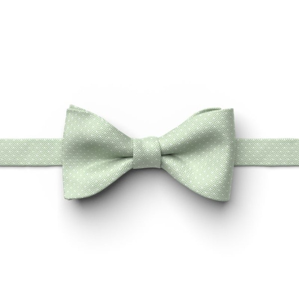Meadow Pin Dot Pre-Tied Bow Tie