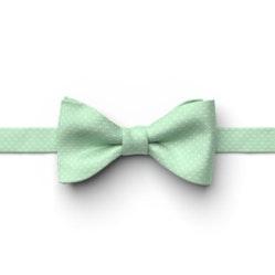 Mint Green Pin Dot Pre-Tied Bow Tie