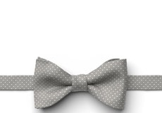 Mercury Pin Dot Pre-Tied Bow Tie