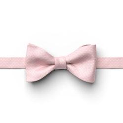 Petal Pink Pin Dot Pre-Tied Bow Tie