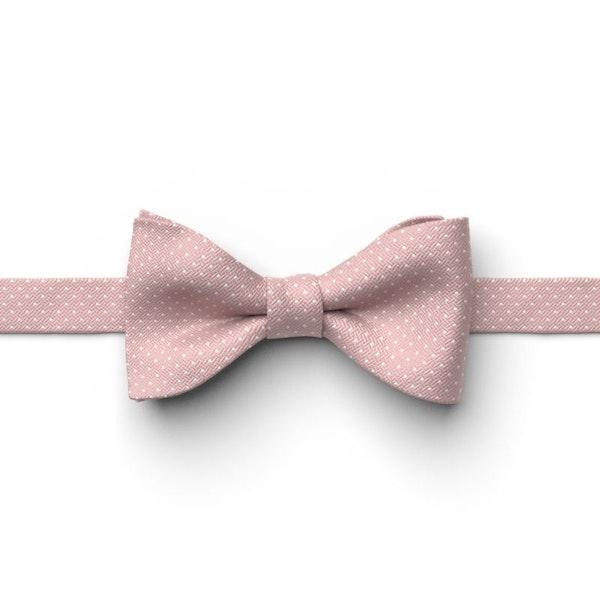 Quartz Pin Dot Pre-Tied Bow Tie