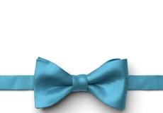 Aqua Marine Pre-Tied Bow Tie