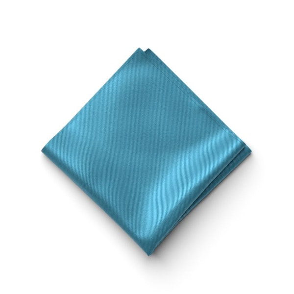 Aqua Marine Pocket Square