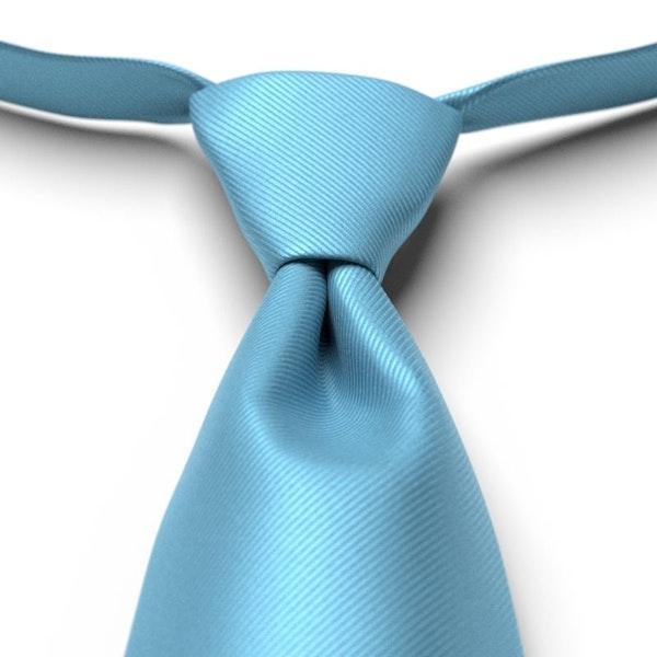 Blue Ice Pre-Tied Tie