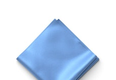 Cornflower Pocket Square