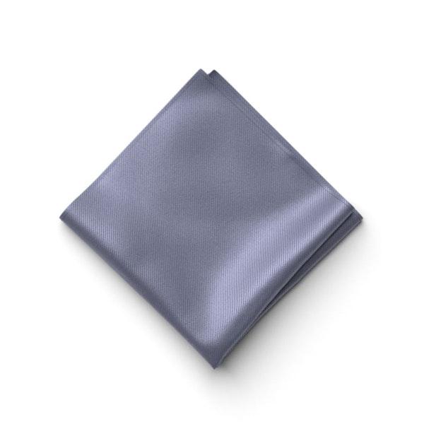 Pewter Pocket Square