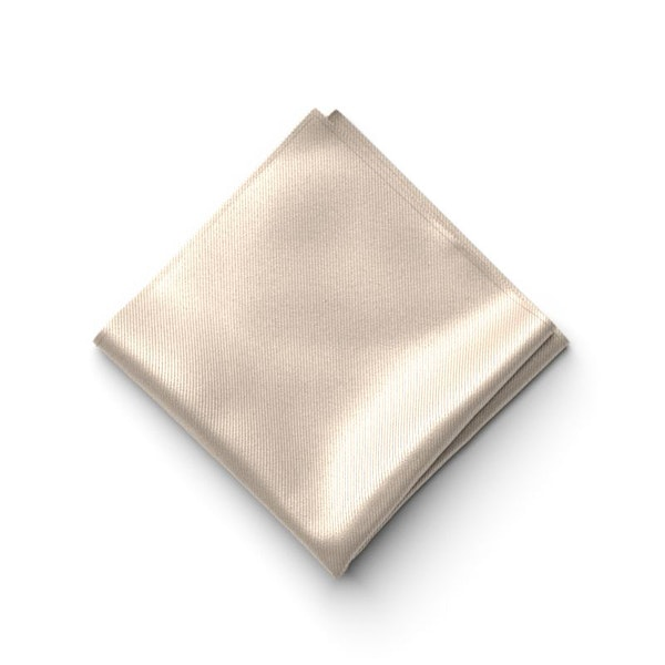 Champagne Pocket Square